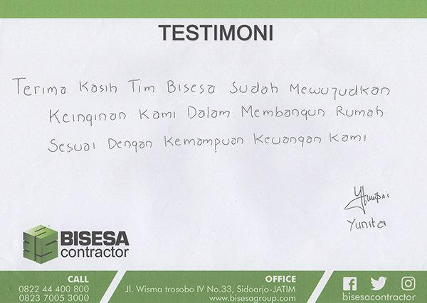 testimoni kontraktor interior surabaya sidoarjo